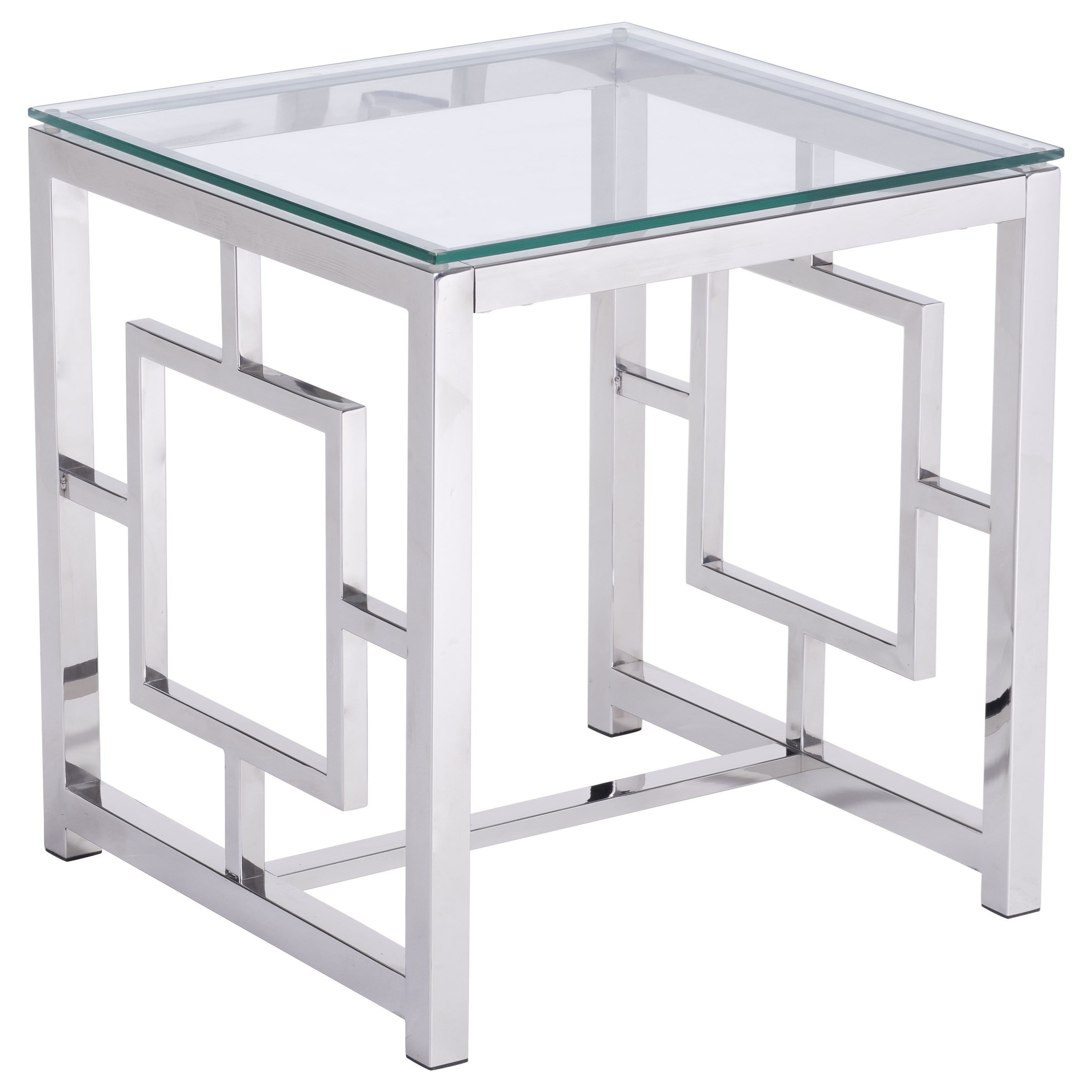 Geranium Side Table by Zuo at Nassau Furniture and Mattress