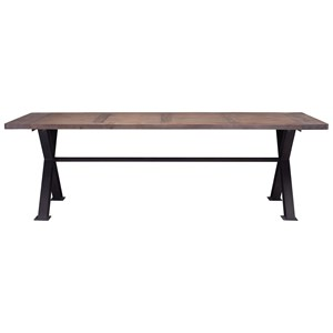 Industrial Rectangle Dining Table
