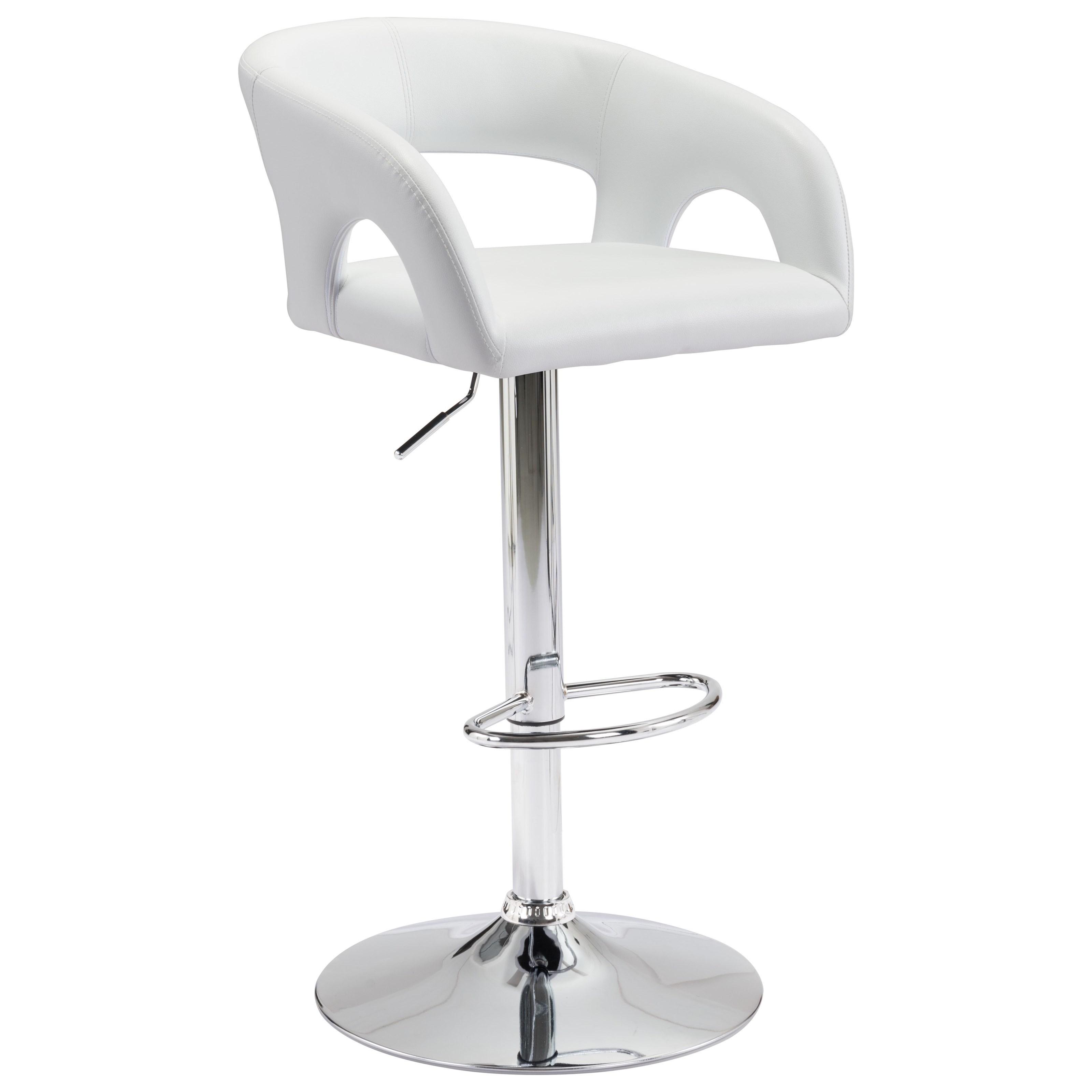 Hark Bar Chair by Zuo at Nassau Furniture and Mattress