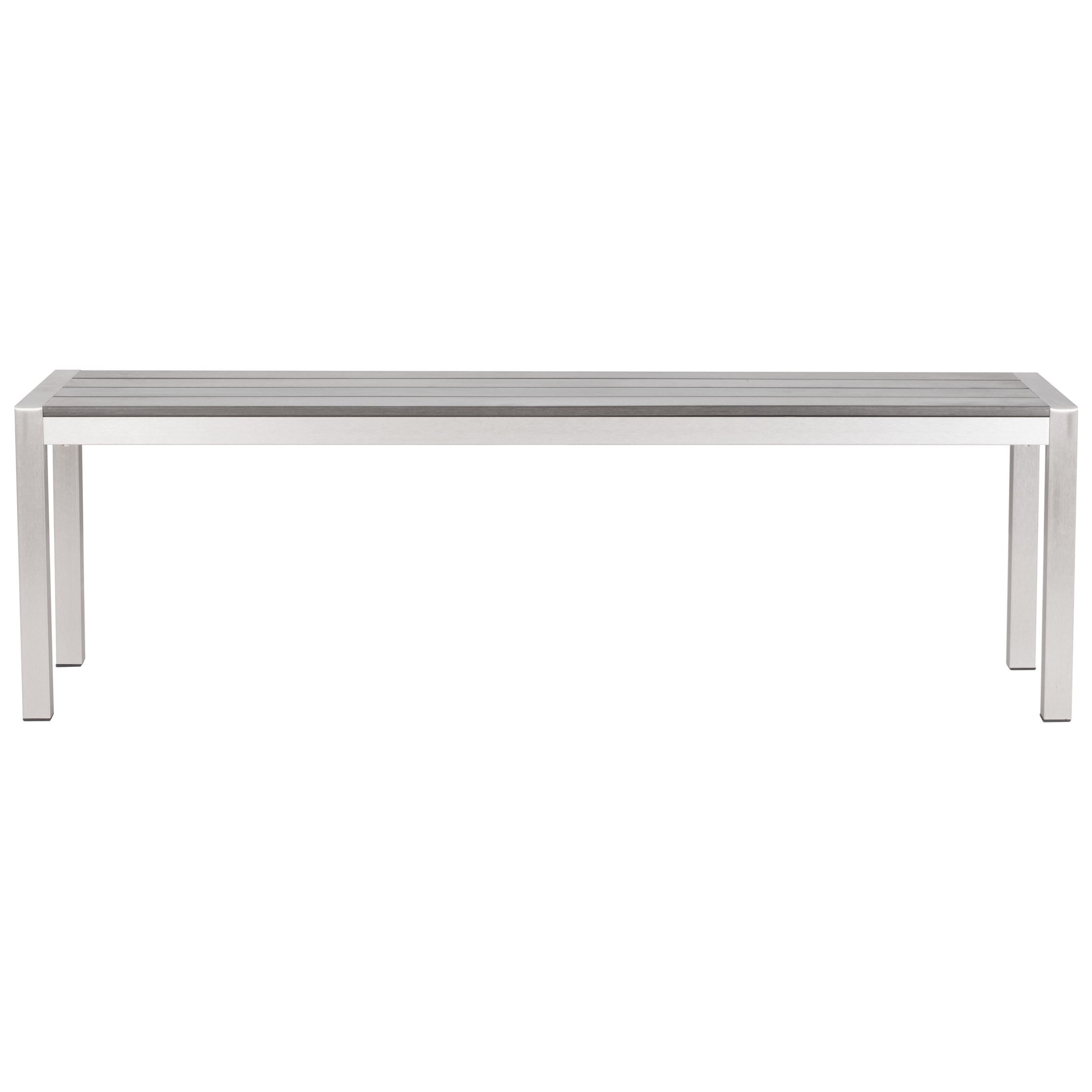 Metropolitan Double Bench by Zuo at Nassau Furniture and Mattress