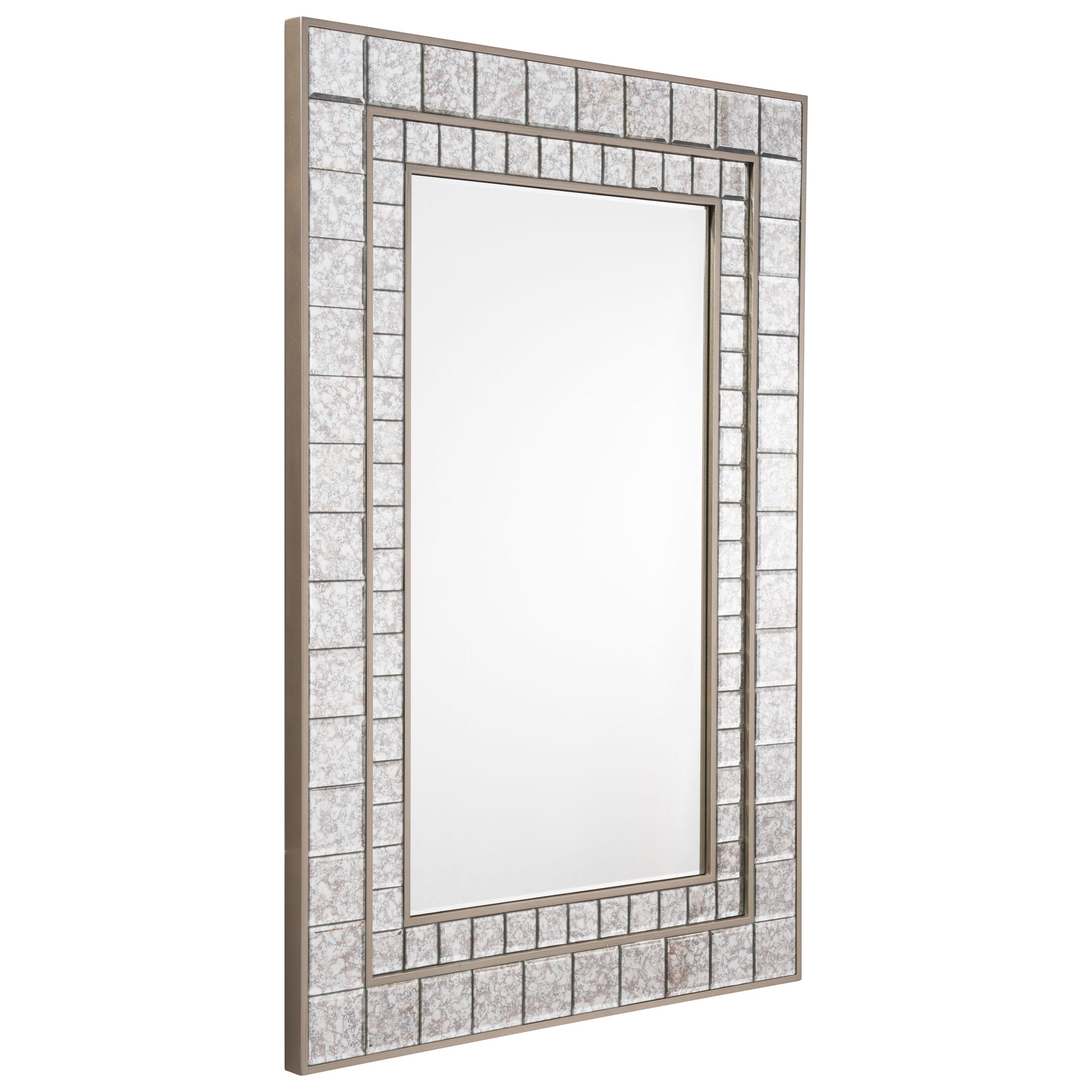Mirrors Mirror Mini Squares Mirror by Zuo at Nassau Furniture and Mattress
