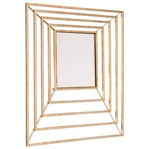 Dimension Gold Mirror