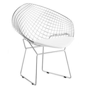 Set of 2 Welded Steel Net Chairs