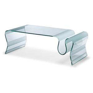 Discovery Glass Cocktail Table