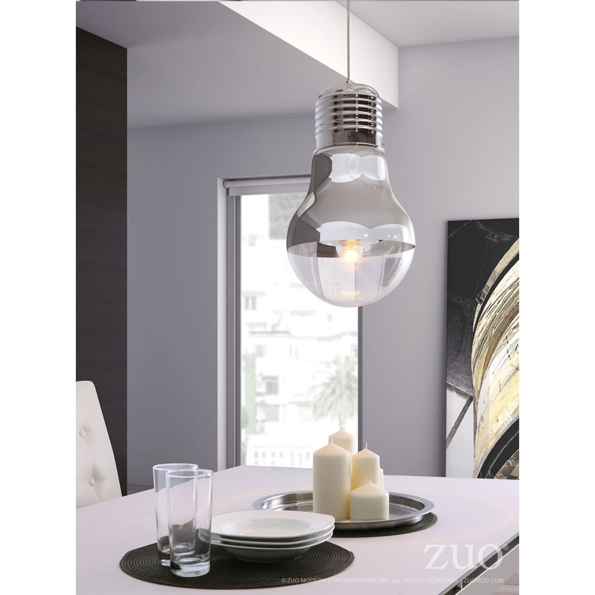 Pure Lighting Gliese Ceiling Lamp by Zuo at Nassau Furniture and Mattress