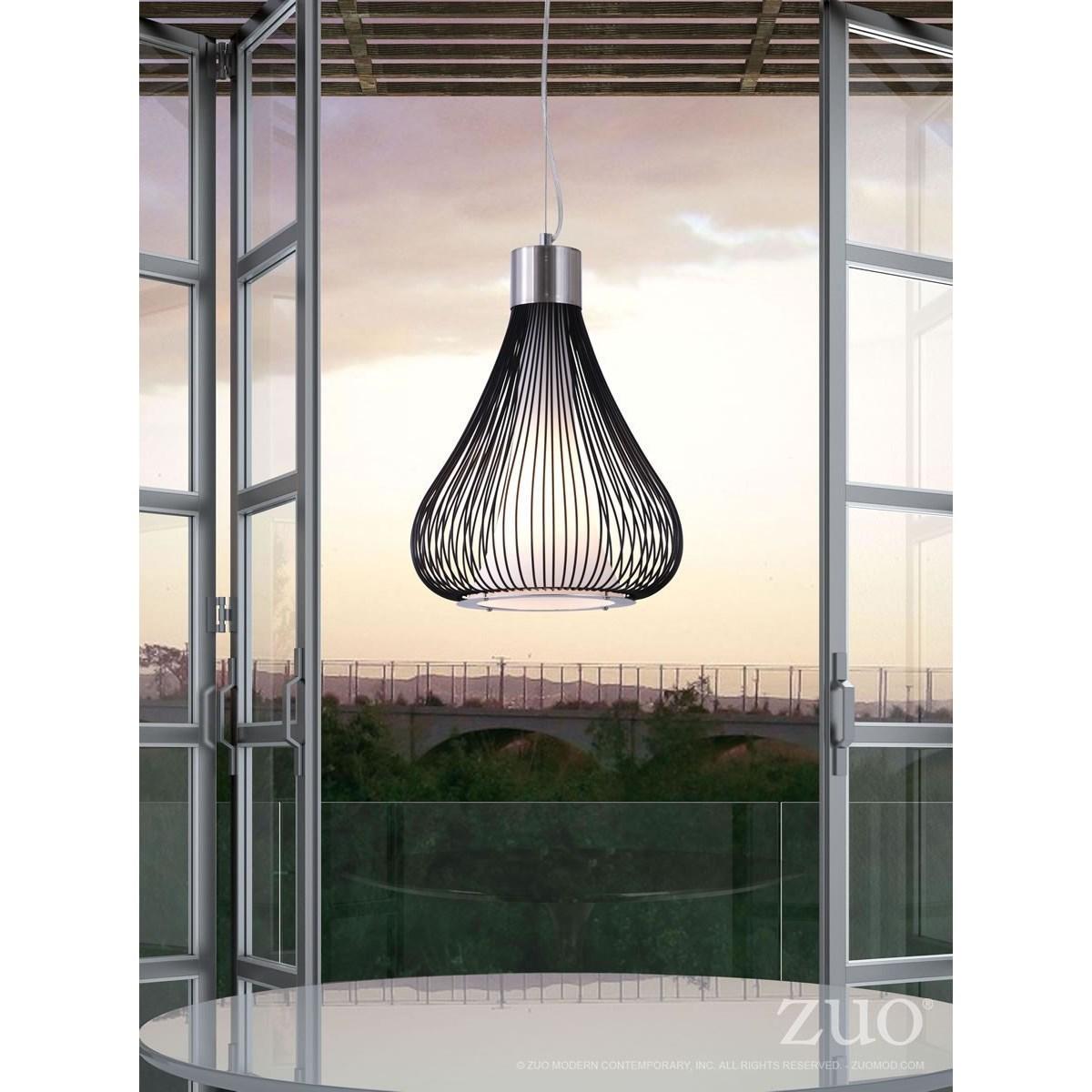 Pure Lighting Interstellar Ceiling Lamp by Zuo at Nassau Furniture and Mattress