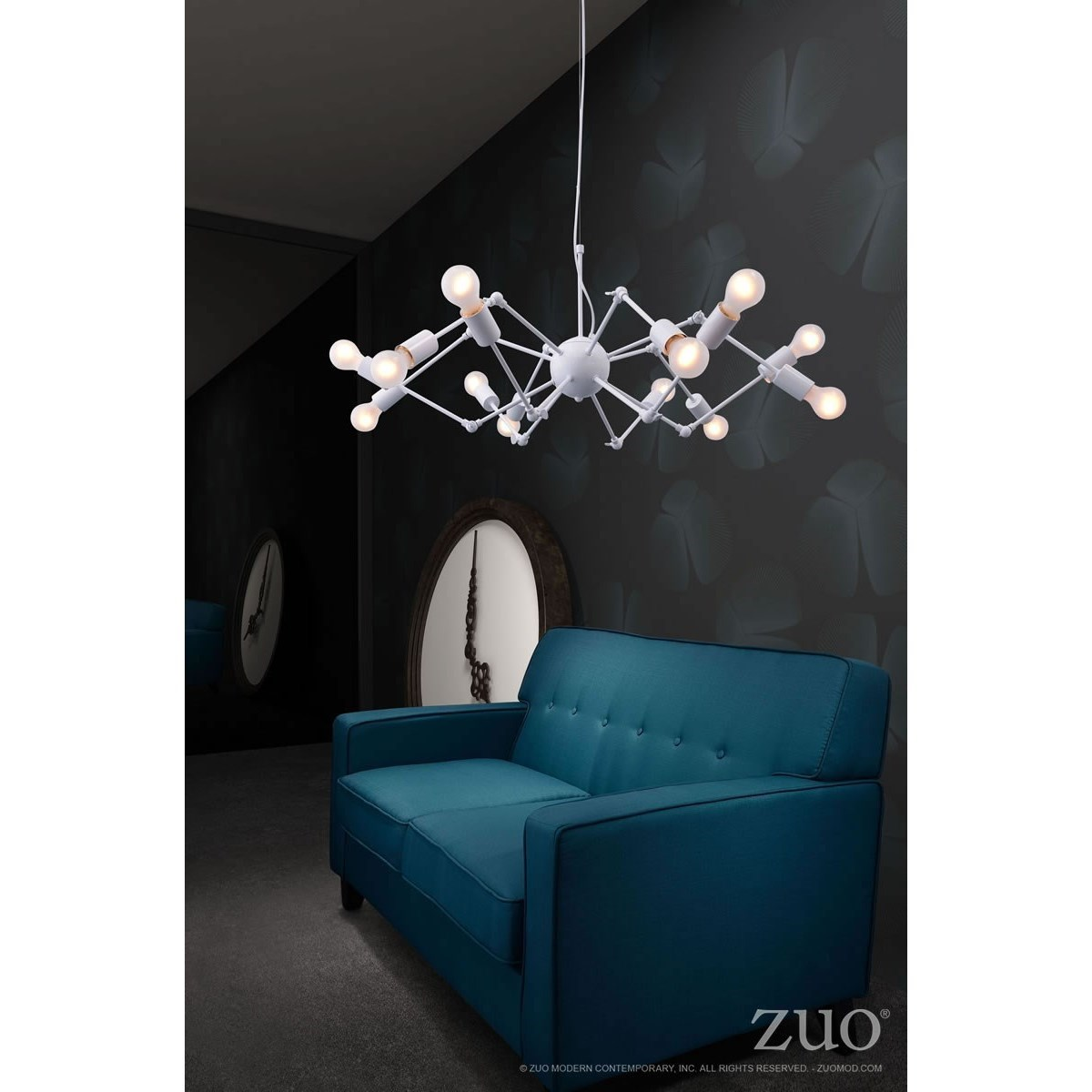 Pure Lighting Sleet Ceiling Lamp by Zuo at Nassau Furniture and Mattress