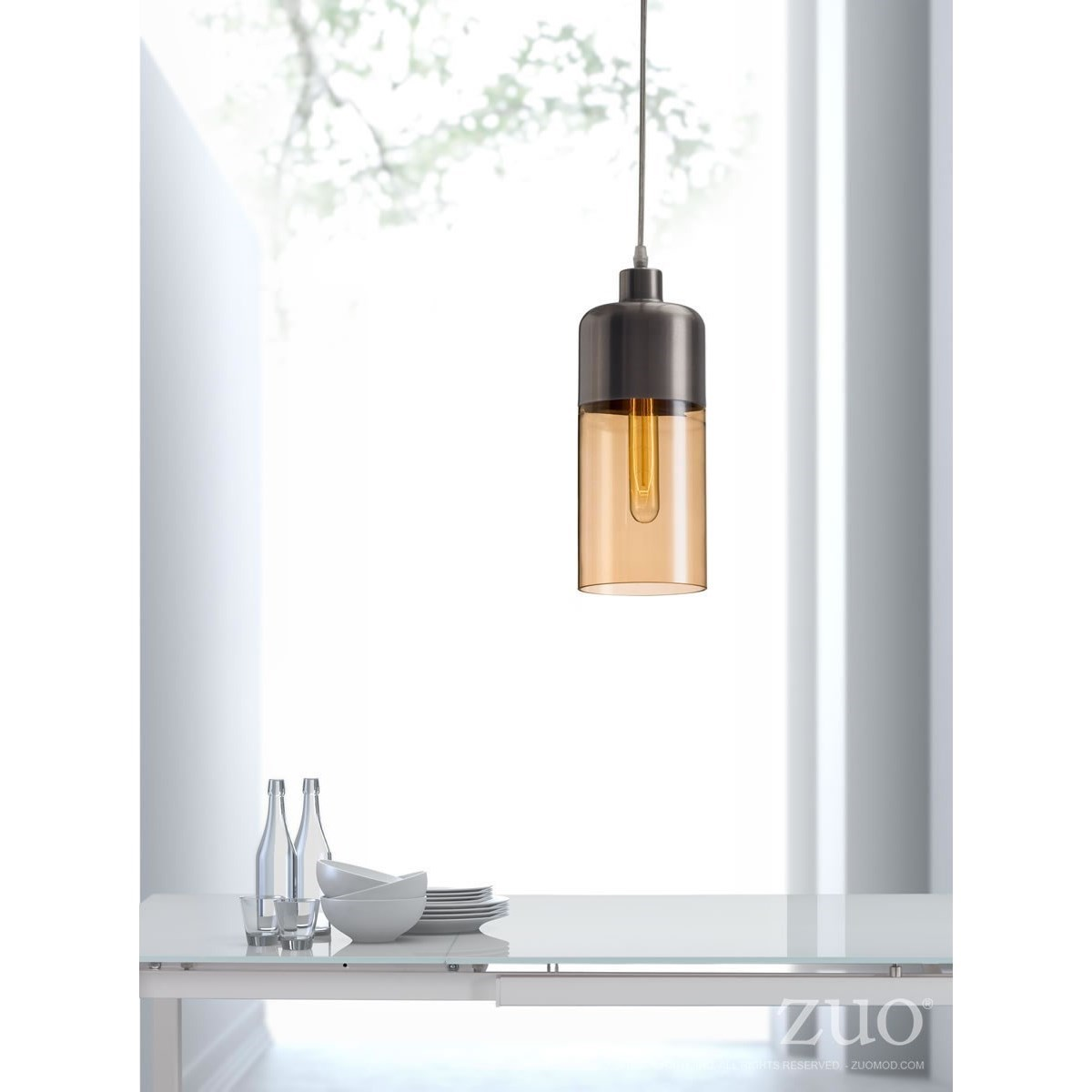 Pure Lighting Vente Ceiling Lamp by Zuo at Nassau Furniture and Mattress