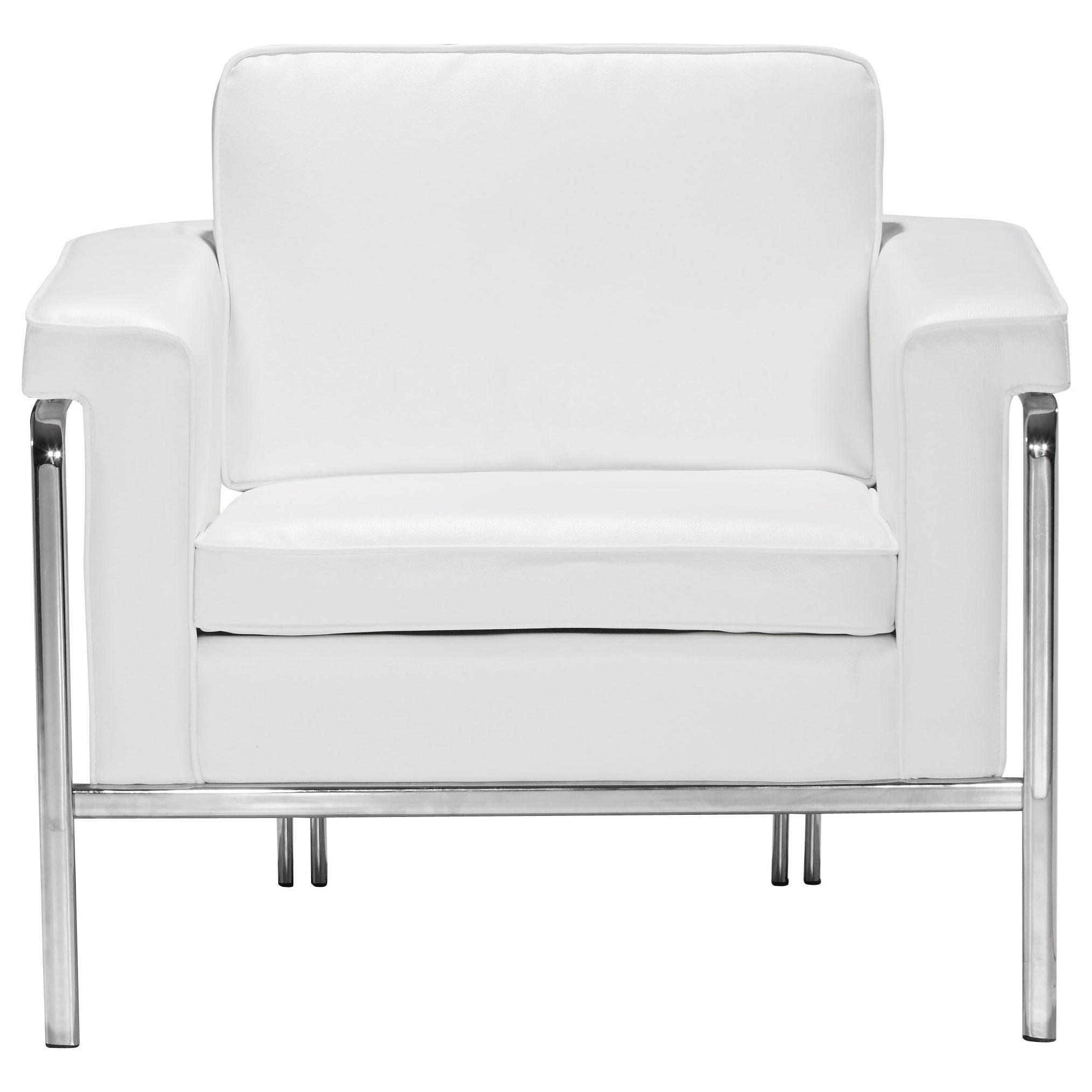 Singular Arm Chair by Zuo at Nassau Furniture and Mattress