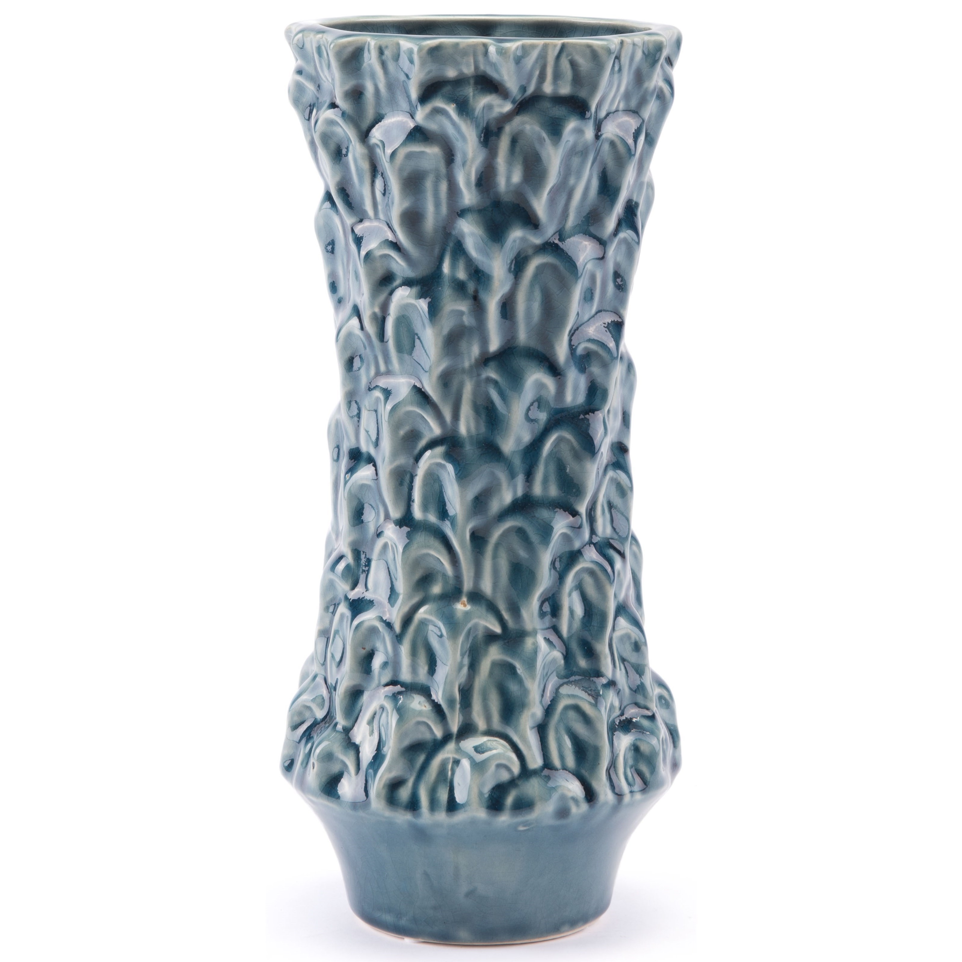 Vases Textured Medium Vase by Zuo at Nassau Furniture and Mattress