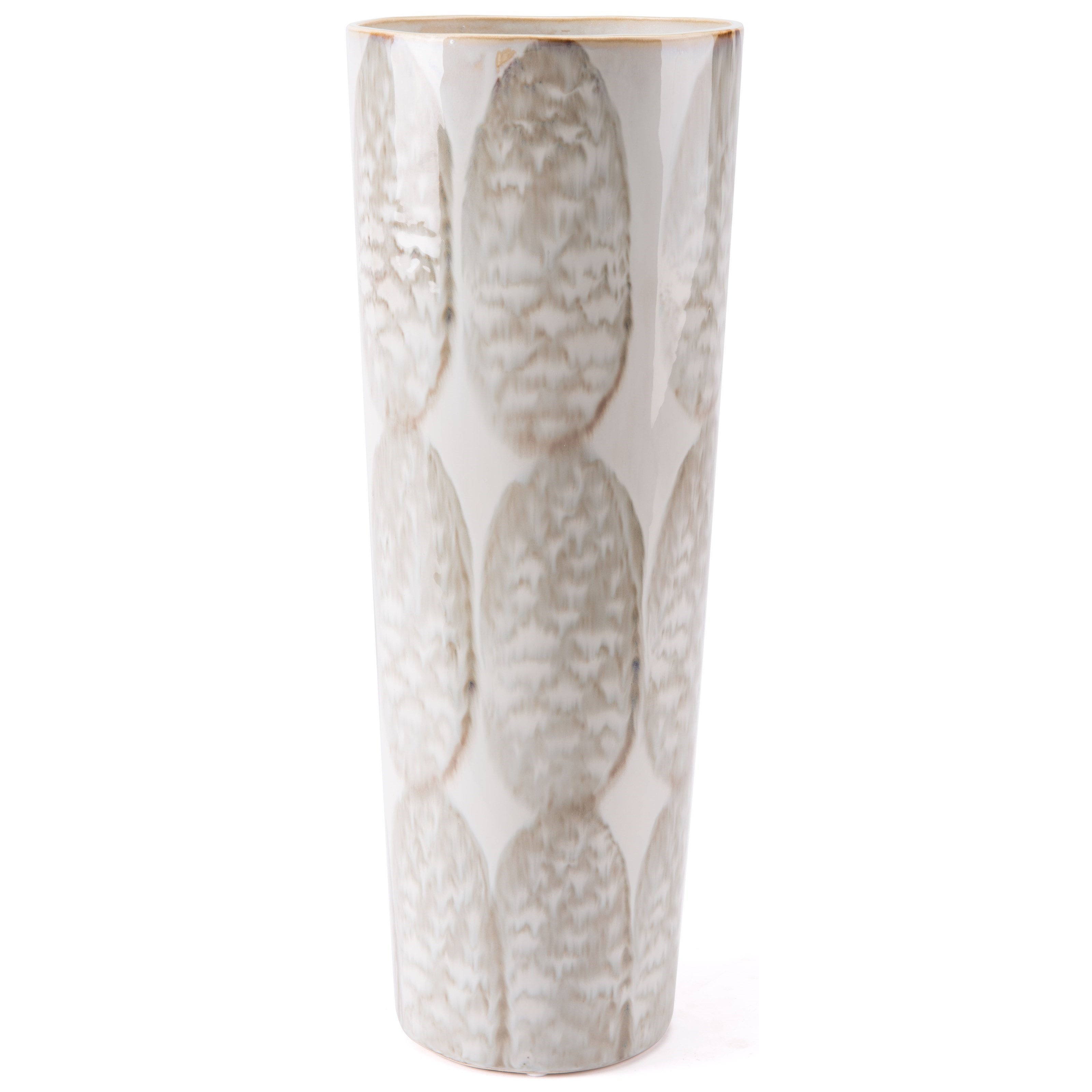 Vases Feather Tall Vase by Zuo at Nassau Furniture and Mattress
