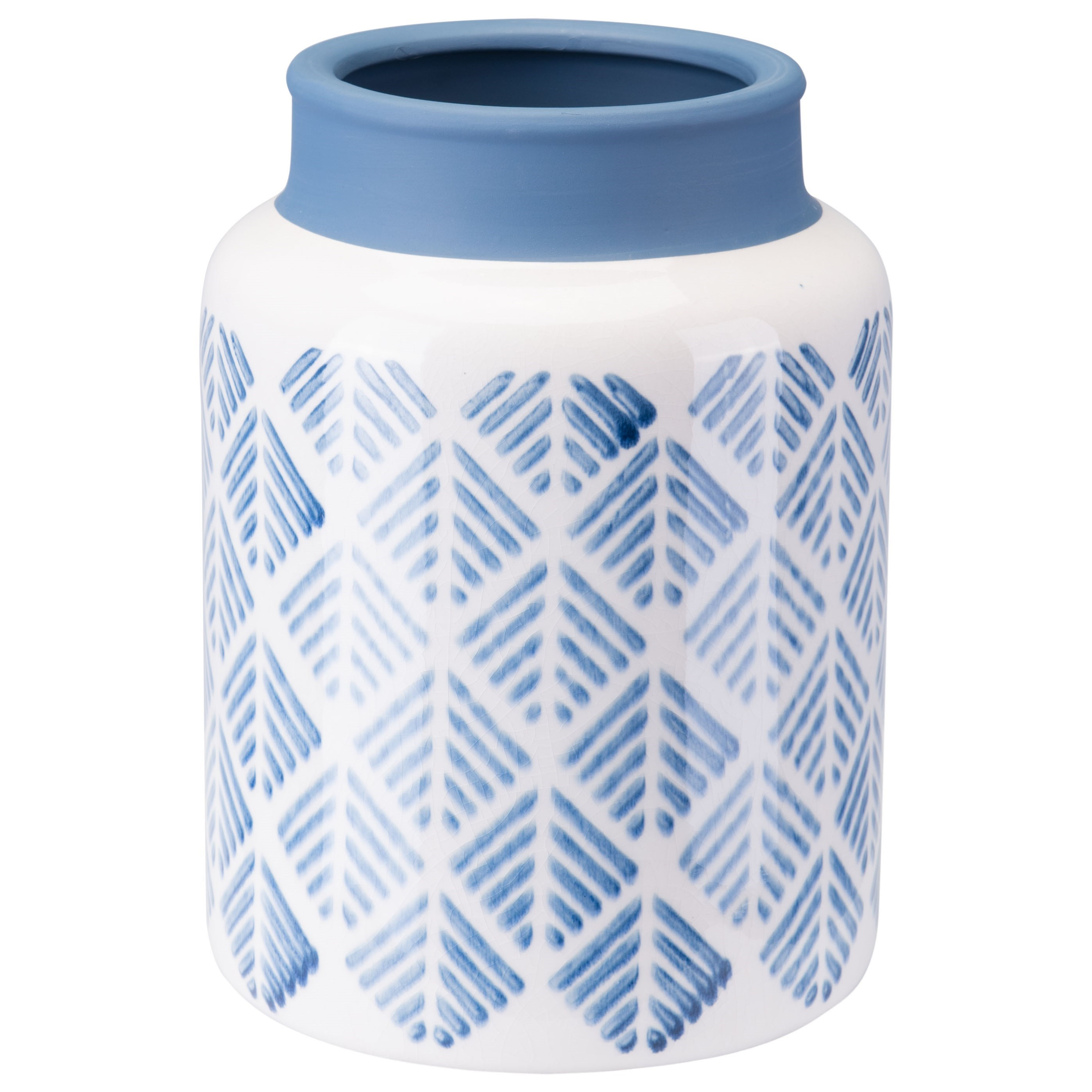 Vases Zig Zag Vase Small  by Zuo at Nassau Furniture and Mattress