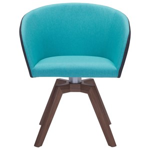Two Tone Swivel Dining Chair