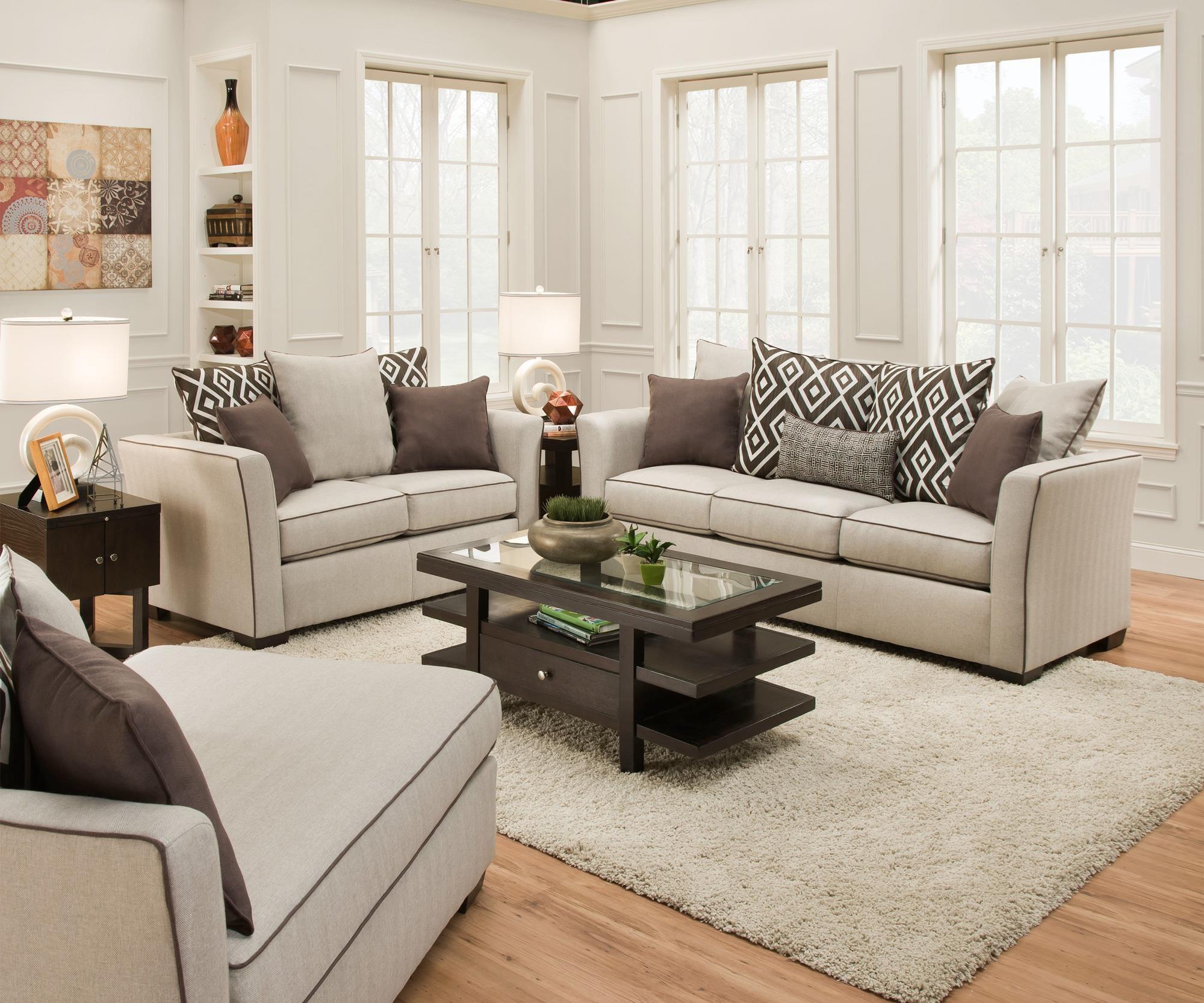 Simmons upholstery sofa simmons upholstery renegade - Cojines para sofas de piel ...