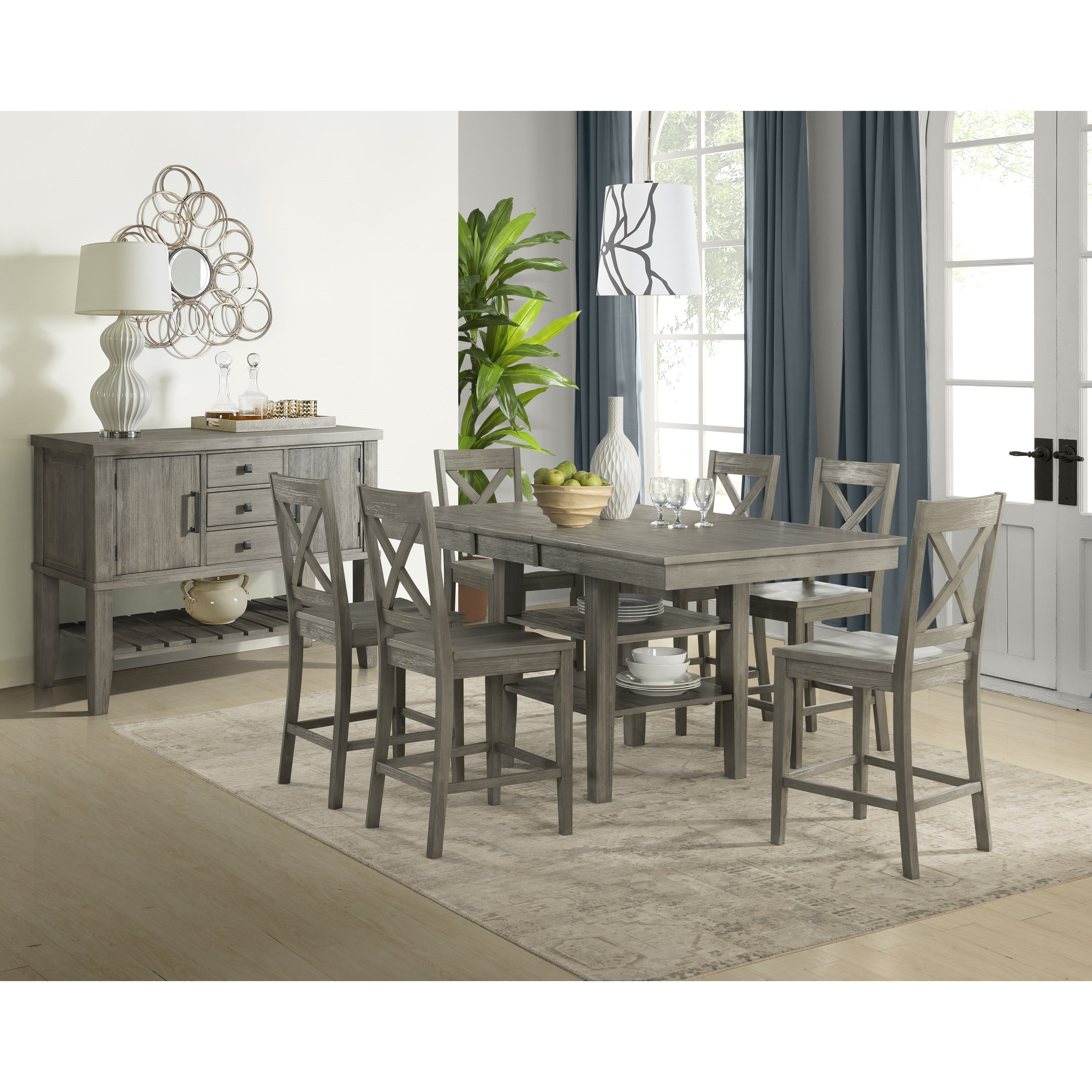 aamerica huron casual dining room group fashion. Black Bedroom Furniture Sets. Home Design Ideas