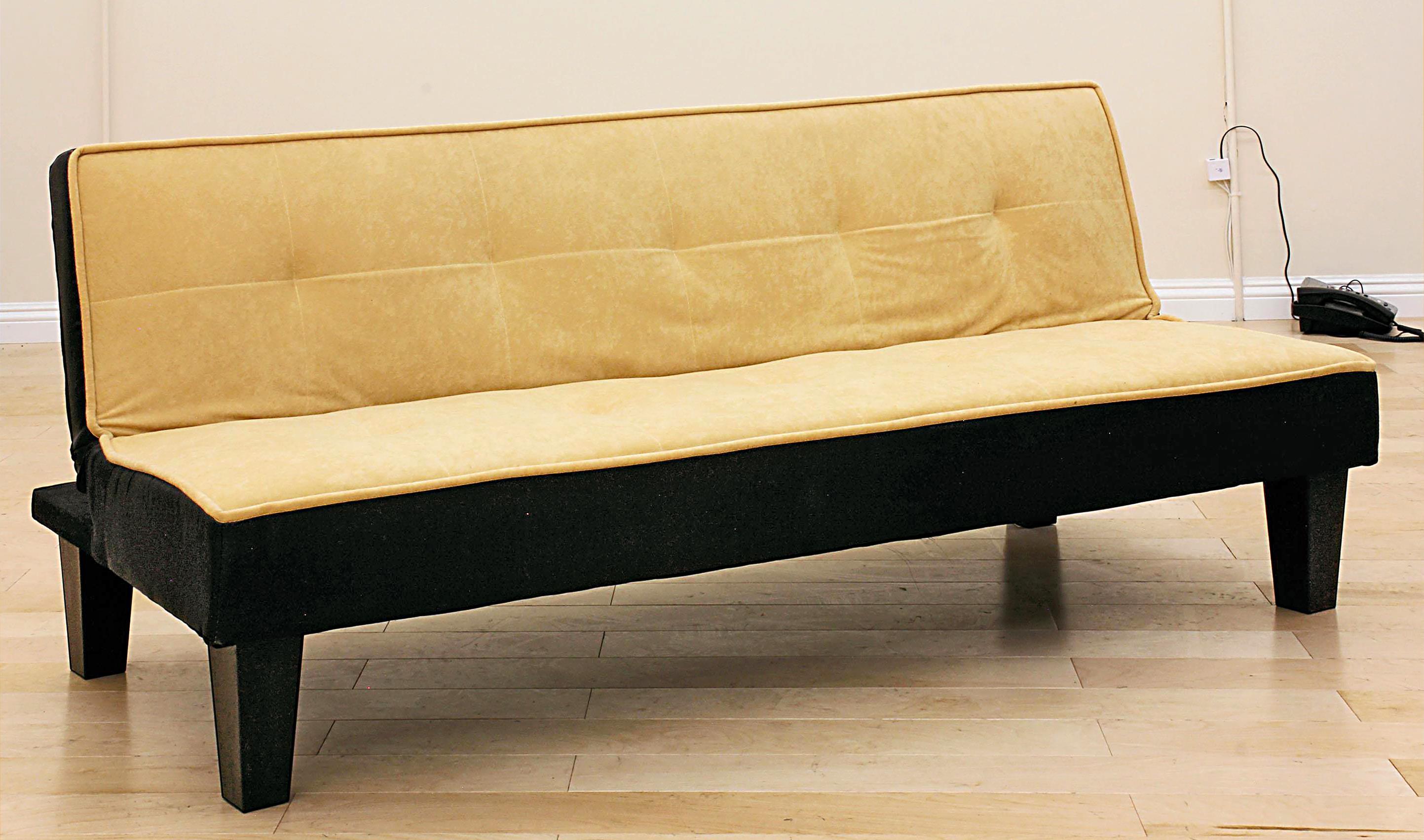 acme furniture sofa bed 57075 yellow sofa bed del sol