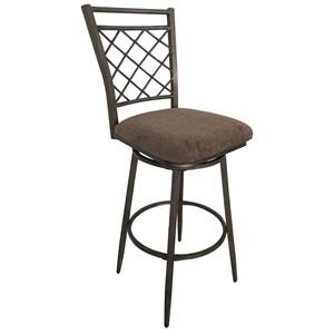 Acme Furniture Aldric Set Of 2 Swivel Bar Stools With