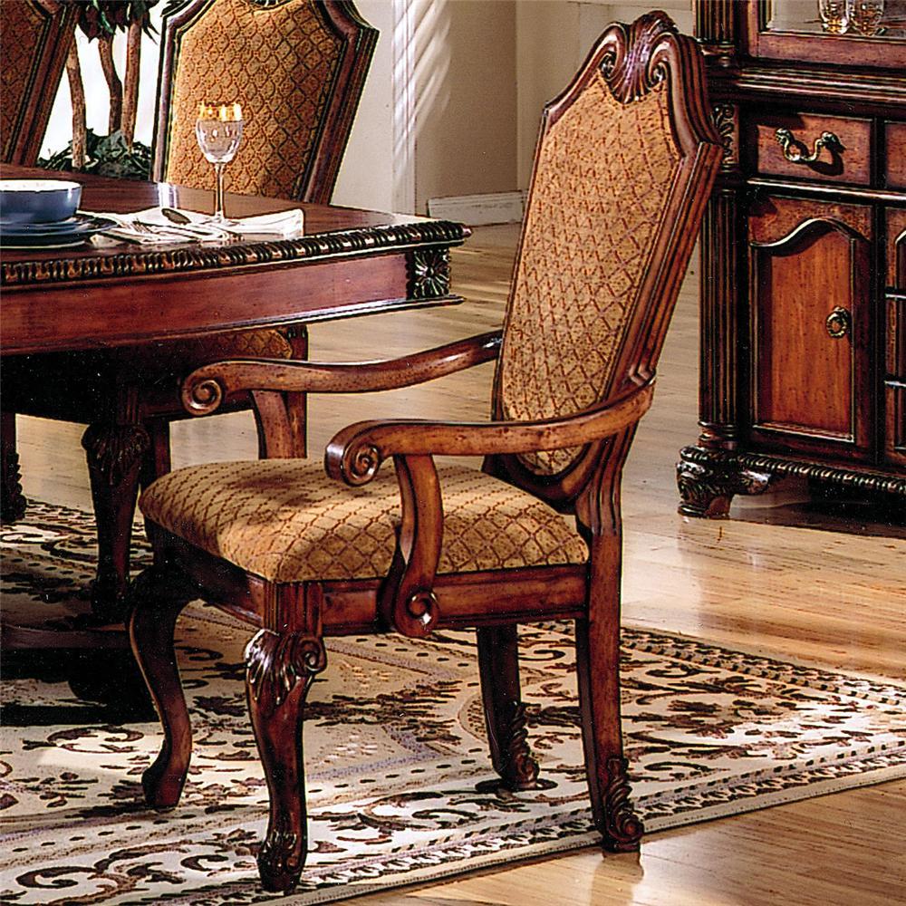 Acme furniture chateau de ville 04078 shield back dining for Furniture ville