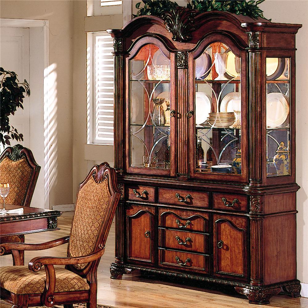 Acme furniture chateau de ville 04079 china cabinet del for Acme kitchen cabinets