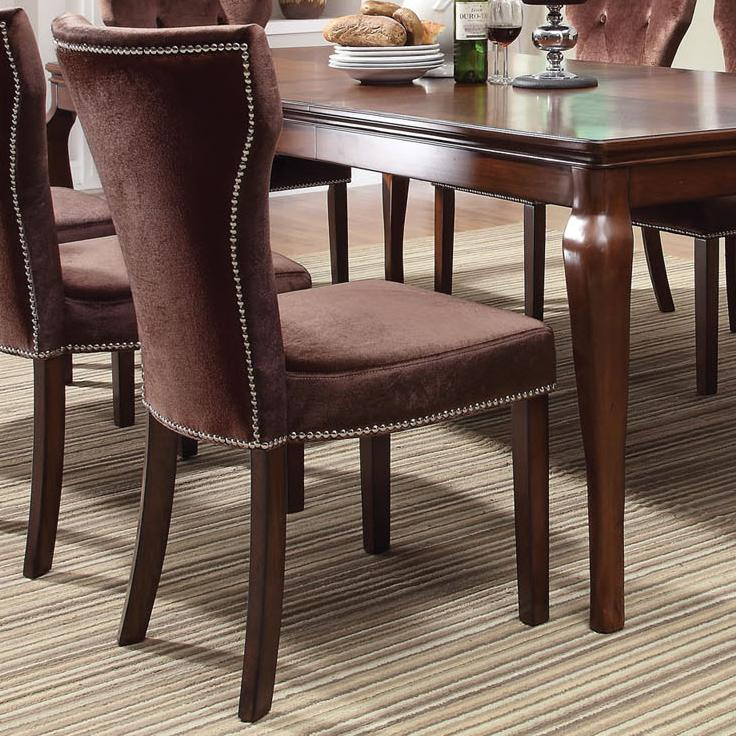 Acme furniture kingston 60024 formal dining side chair for Furniture kingston