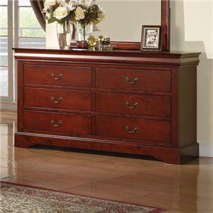Acme Furniture Louis Philippe Iii Transtional Queen Bedroom Group Del Sol Furniture Bedroom