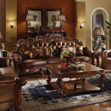 Acme Furniture Vendome 52000 Oversized Stationary Sofa