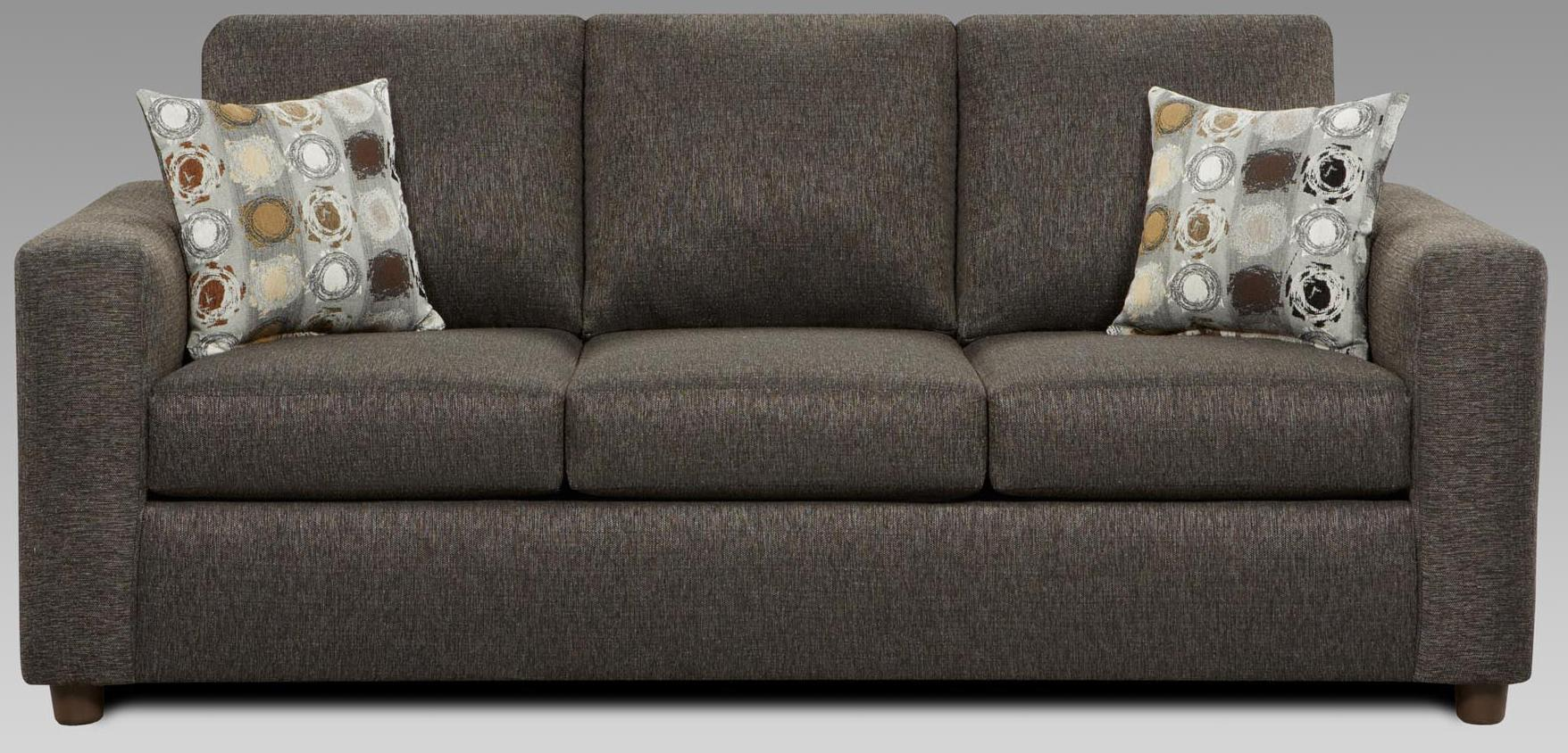 Stationary sofa 3600 by affordable furniture wilcox for Affordable furniture number