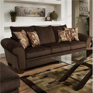 Albany sofa reagan sofa and love seat albany pewter nader for Allison recliner sectional sofa by albany industries