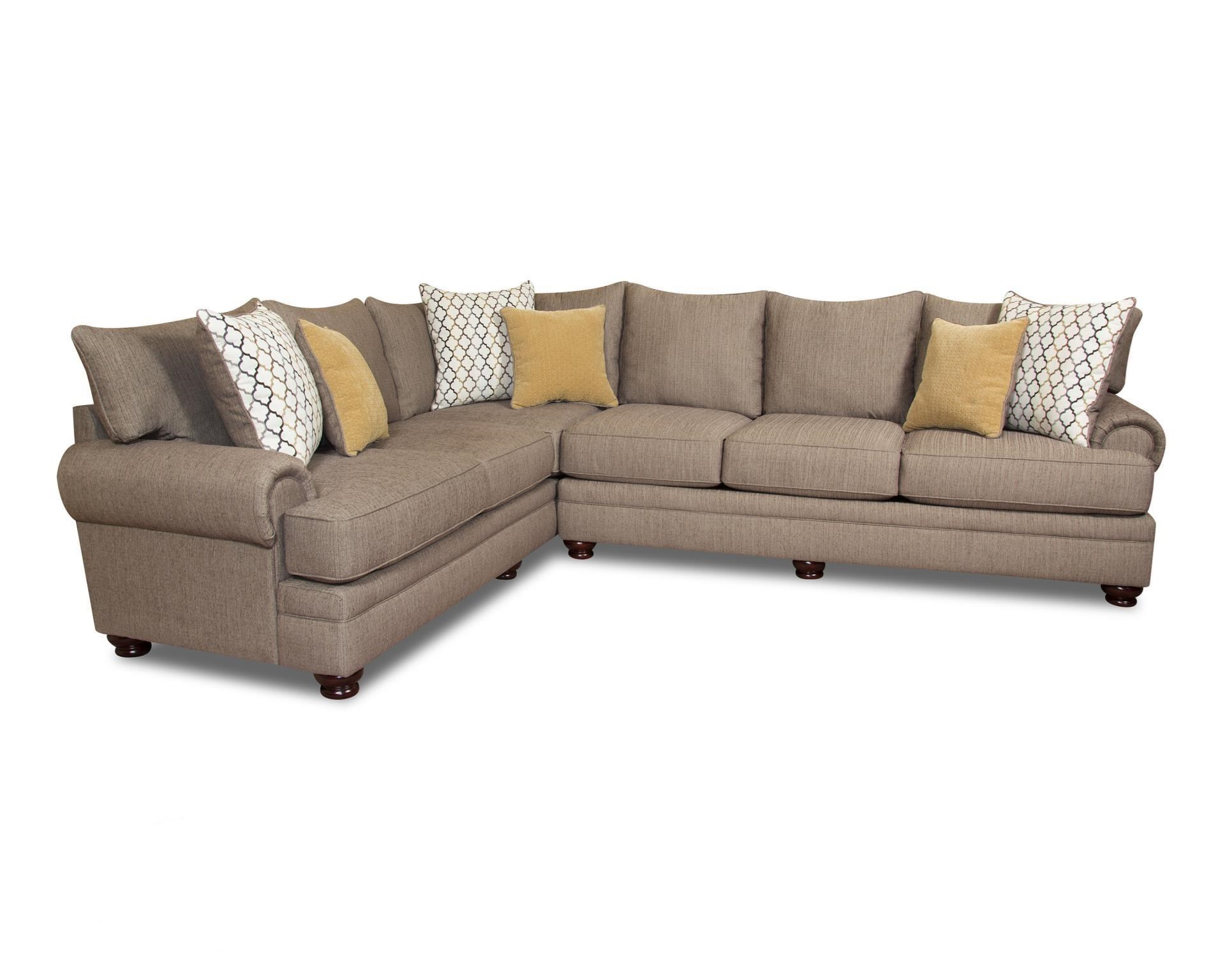 Cosette 2 Piece Sectional Morris Home Sectional Sofas