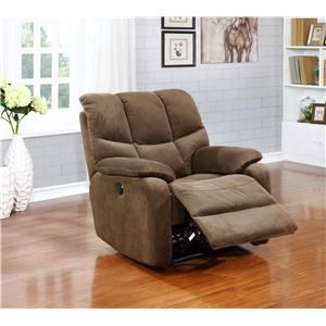 Jerry Power Chaise Recliner by Amalfi Home Furniture at Sam Levitz Outlet