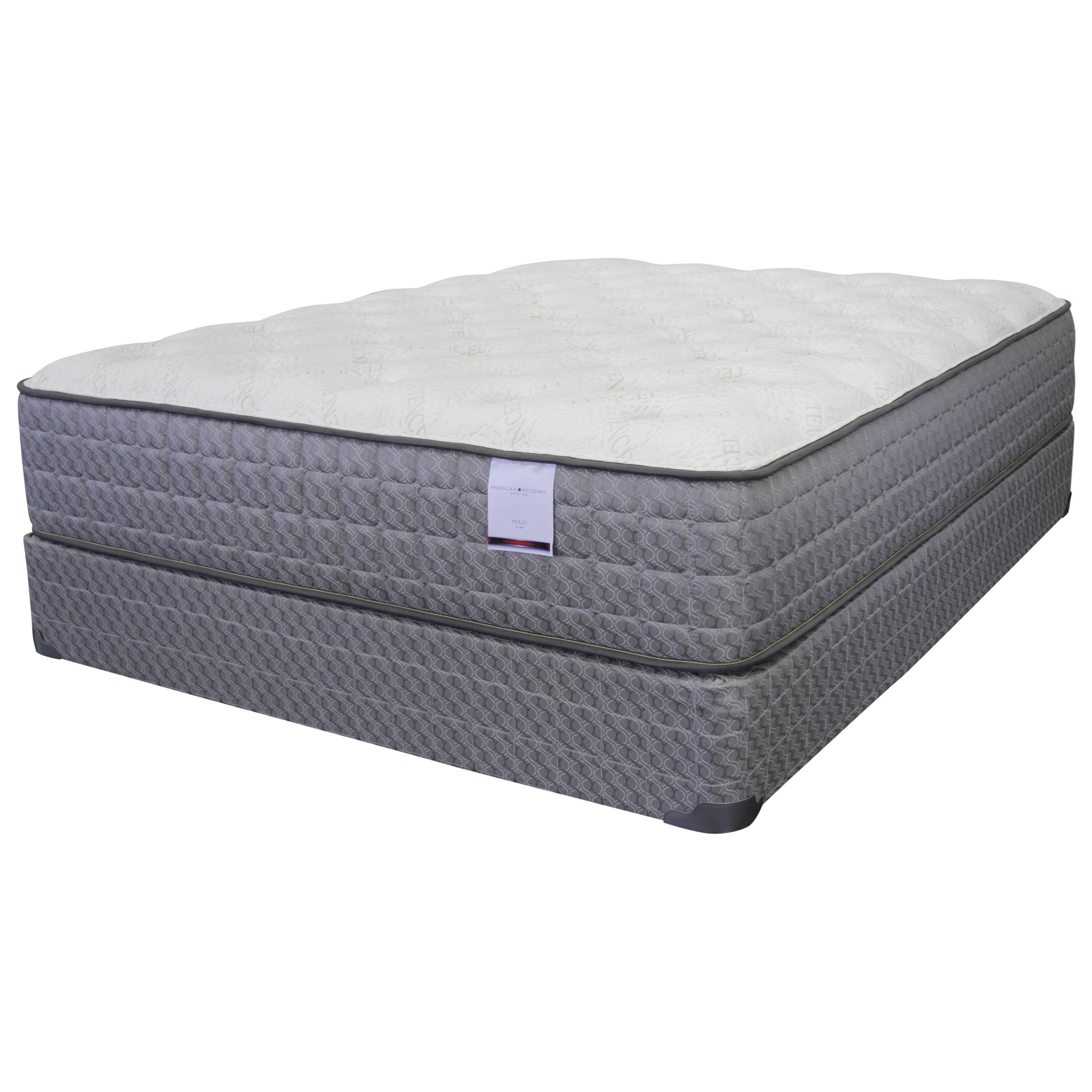 American Bedding Company Holly Plush King 13 Plush Mattress Ivan Smith Furniture Mattress