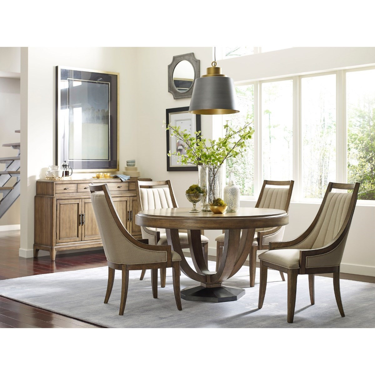 American drew evoke casual dining room group for Informal dining
