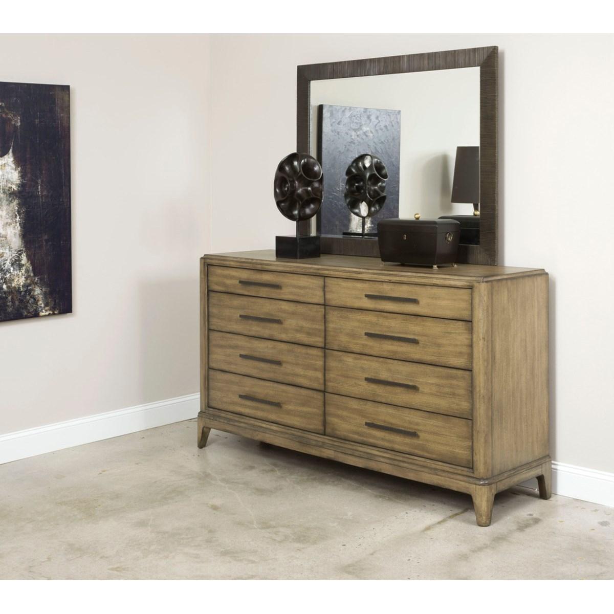 American Drew Evoke Dresser With 8 Soft Close Drawers