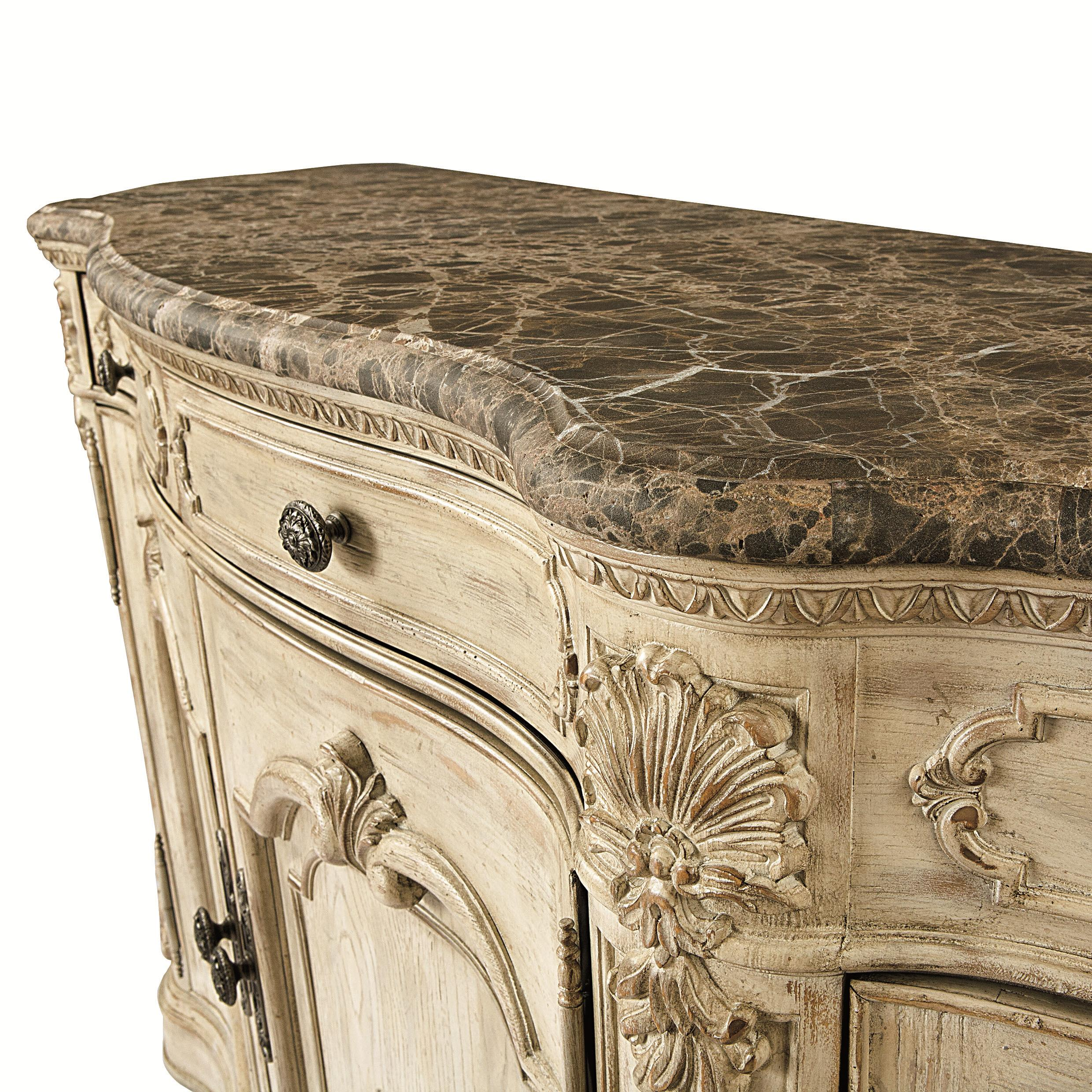 Buffet with Marble Top