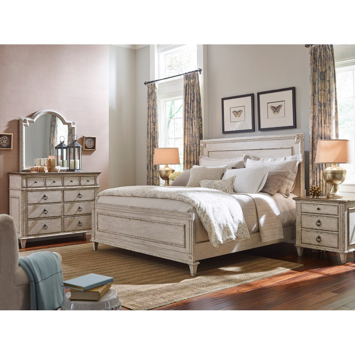American Drew Southbury Nightstand With 3 Soft Close