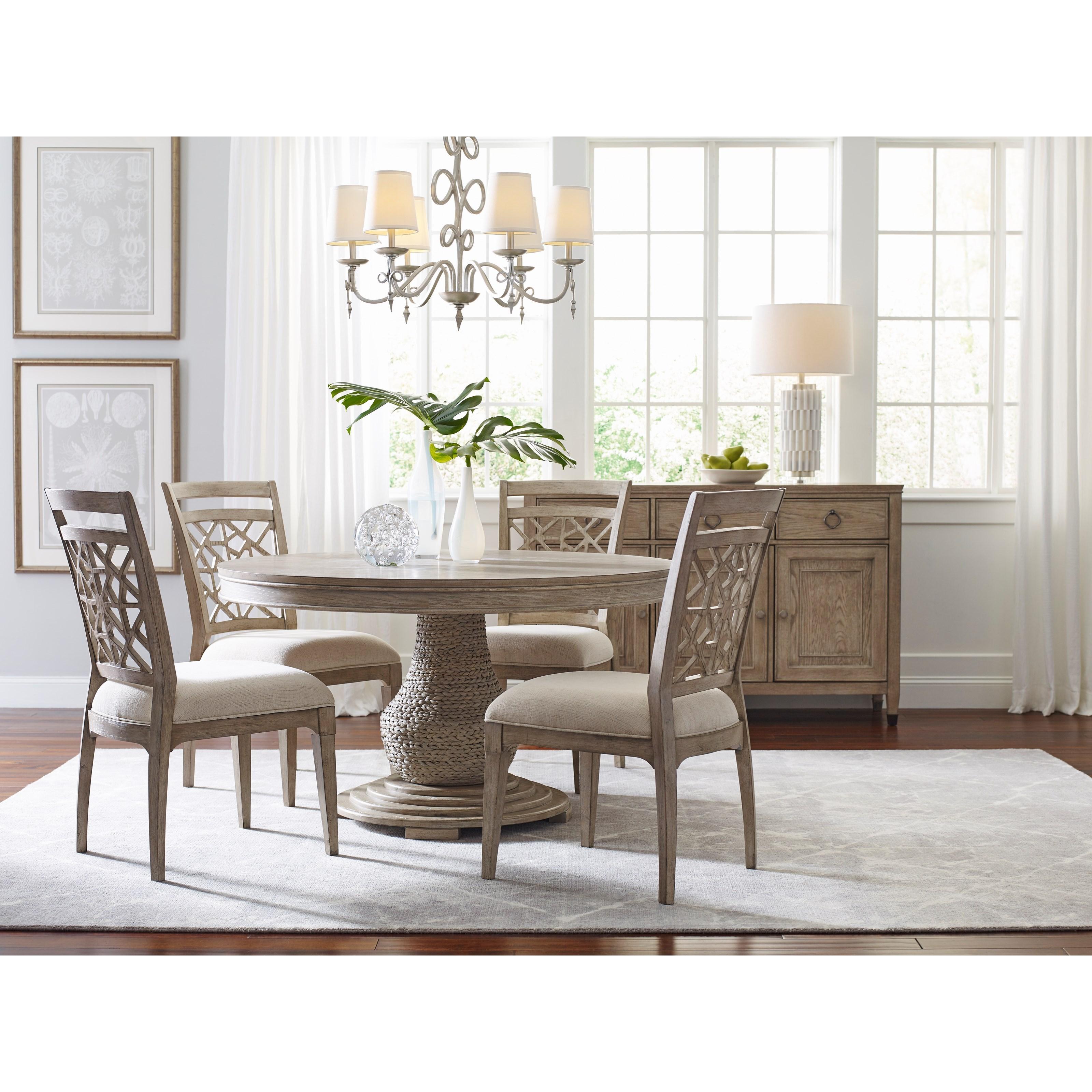 living trends vista casual dining room group sprintz. Black Bedroom Furniture Sets. Home Design Ideas