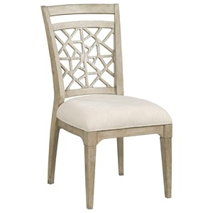 Kincaid Furniture Weatherford 76 061 Side Chair With
