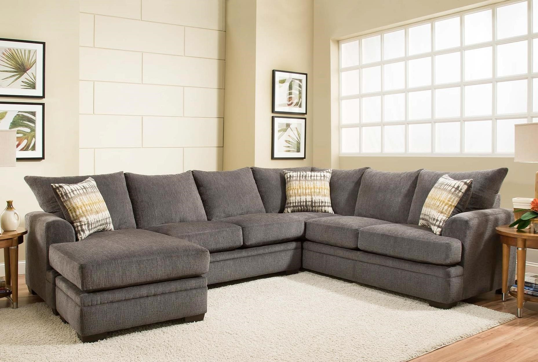 American furniture 6800 sectional sofa with left side for American home furniture couches