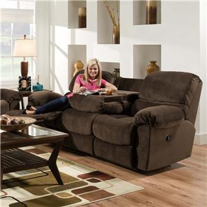American Furniture AF310 Reclining Loveseat in Casual