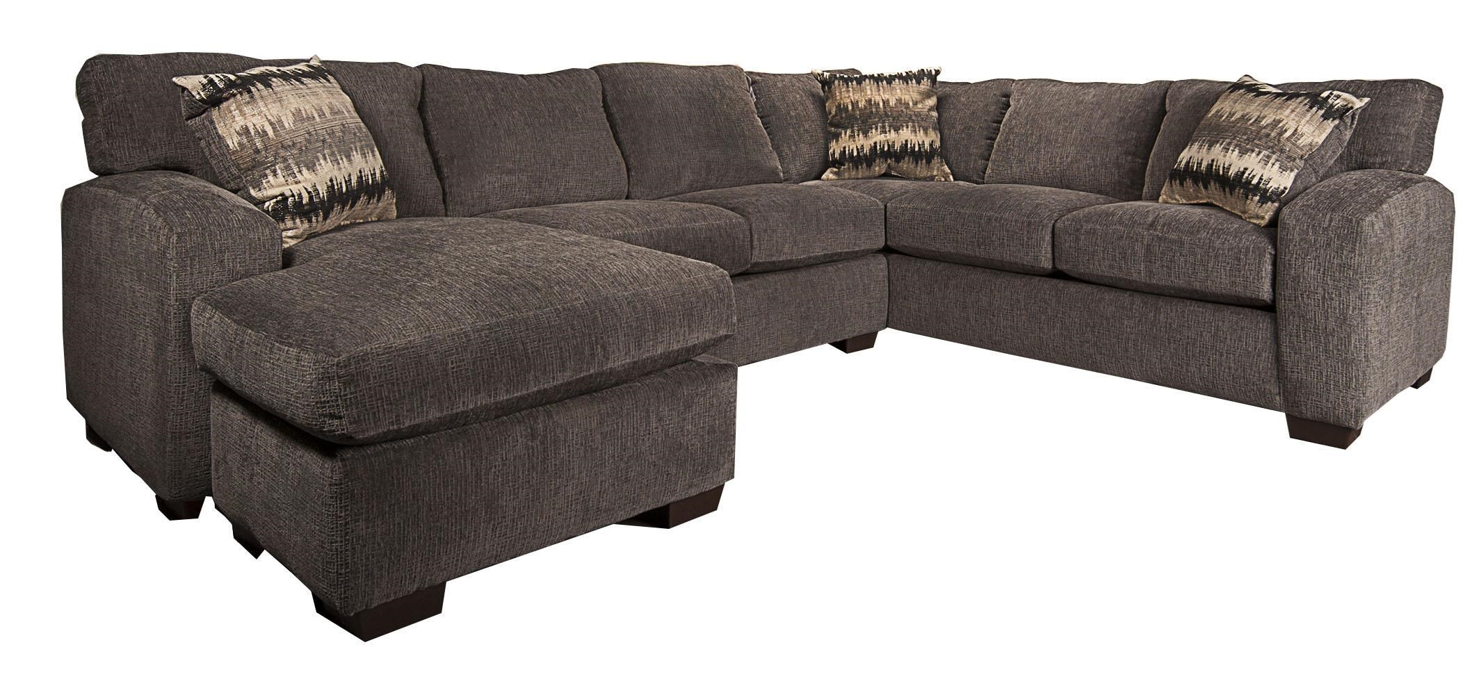 Cyndel 2 piece sectional morris home sectional sofas Morris home furniture outlet