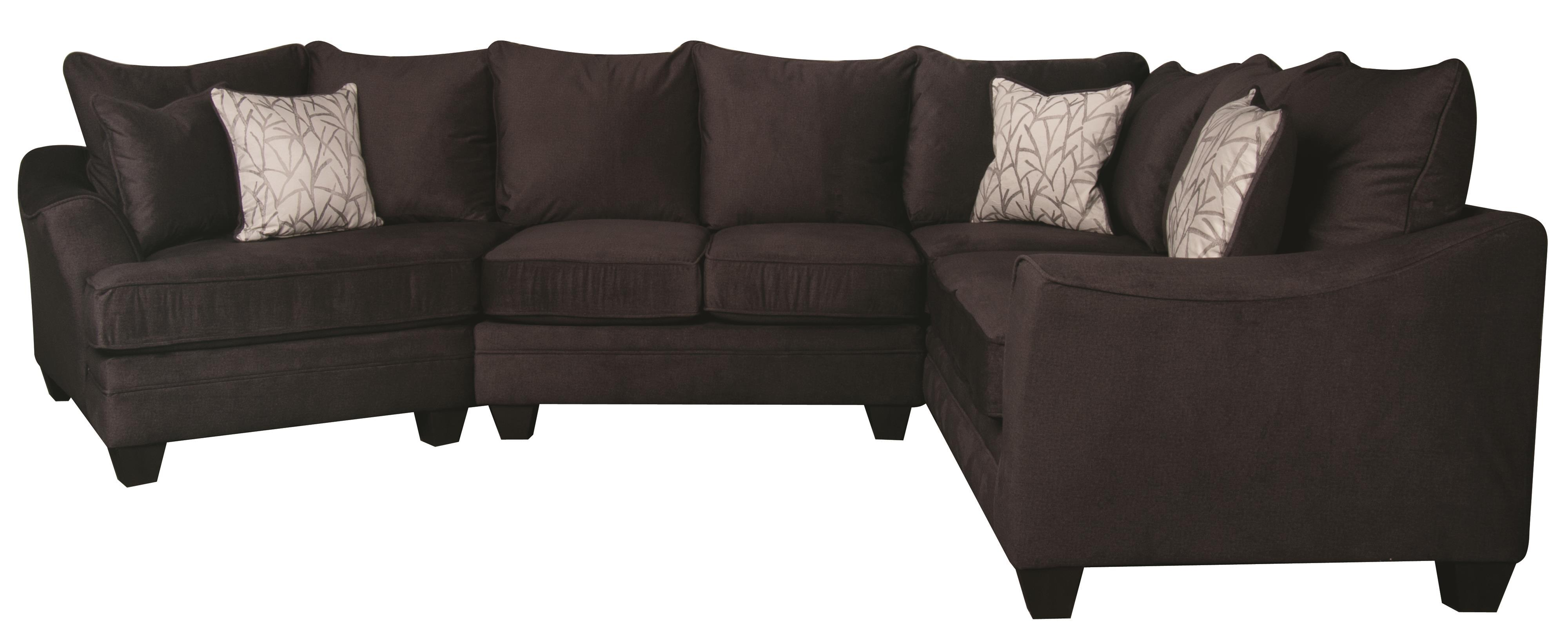 Rachel 3 piece sectional morris home sofa sectional Morris home furniture hours