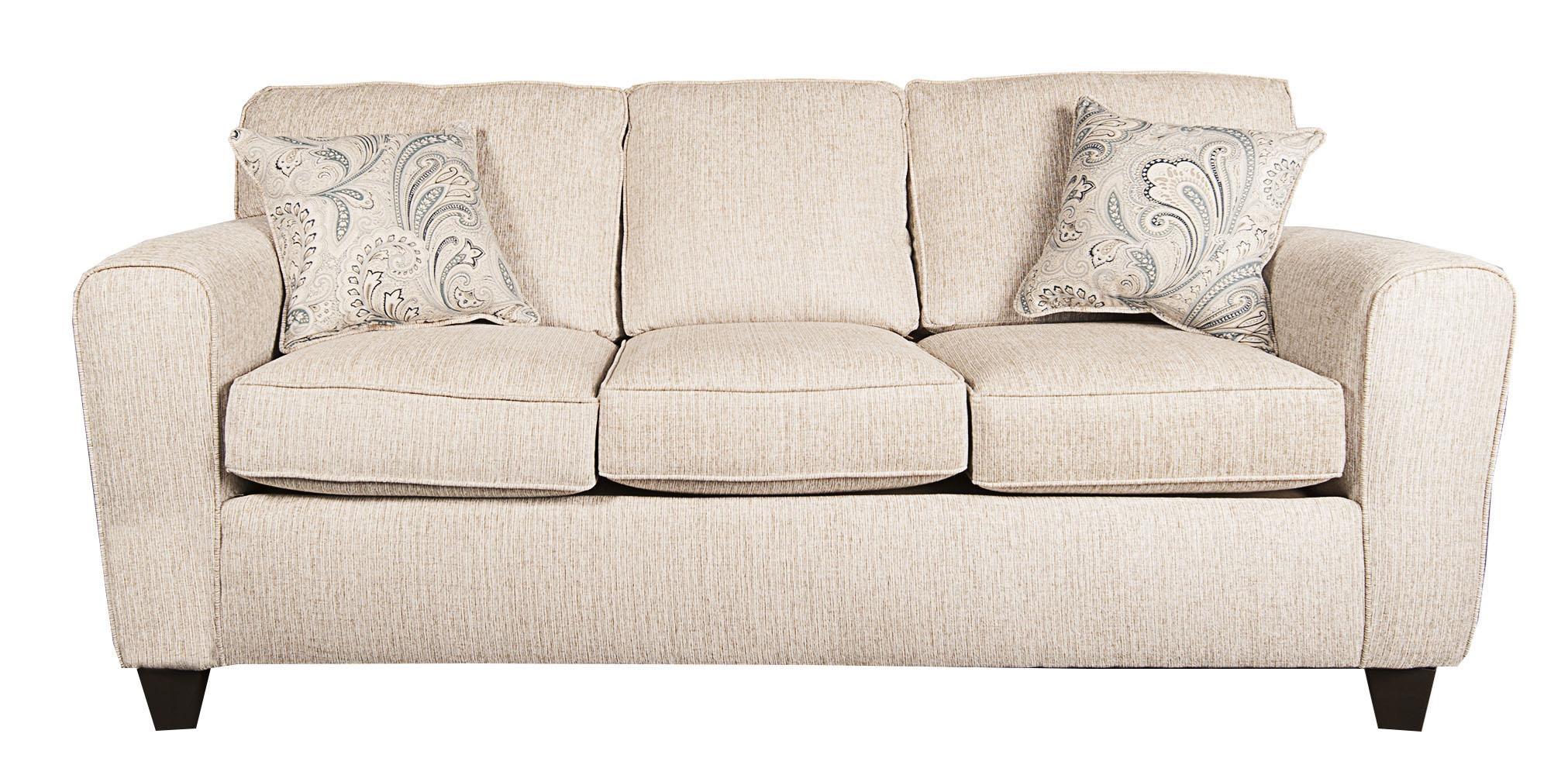 Rexanna Traditional Sofa With Accent Pillows Morris Home Sofas
