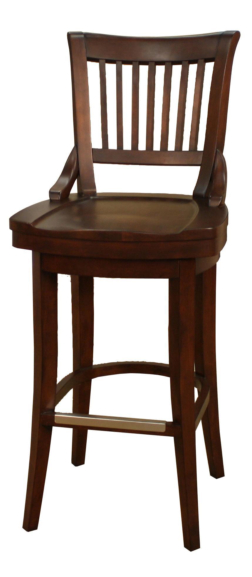 american heritage billiards bar stools 134755sd 34 inch liberty bar stool becker furniture. Black Bedroom Furniture Sets. Home Design Ideas