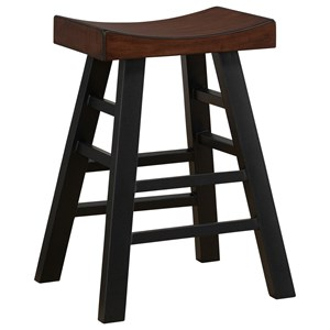 Amisco Industrial 30 Quot Bar Height Jetson Swivel Stool