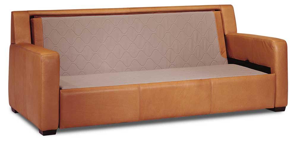 American Leather Carson Leather Sofa Sleeper
