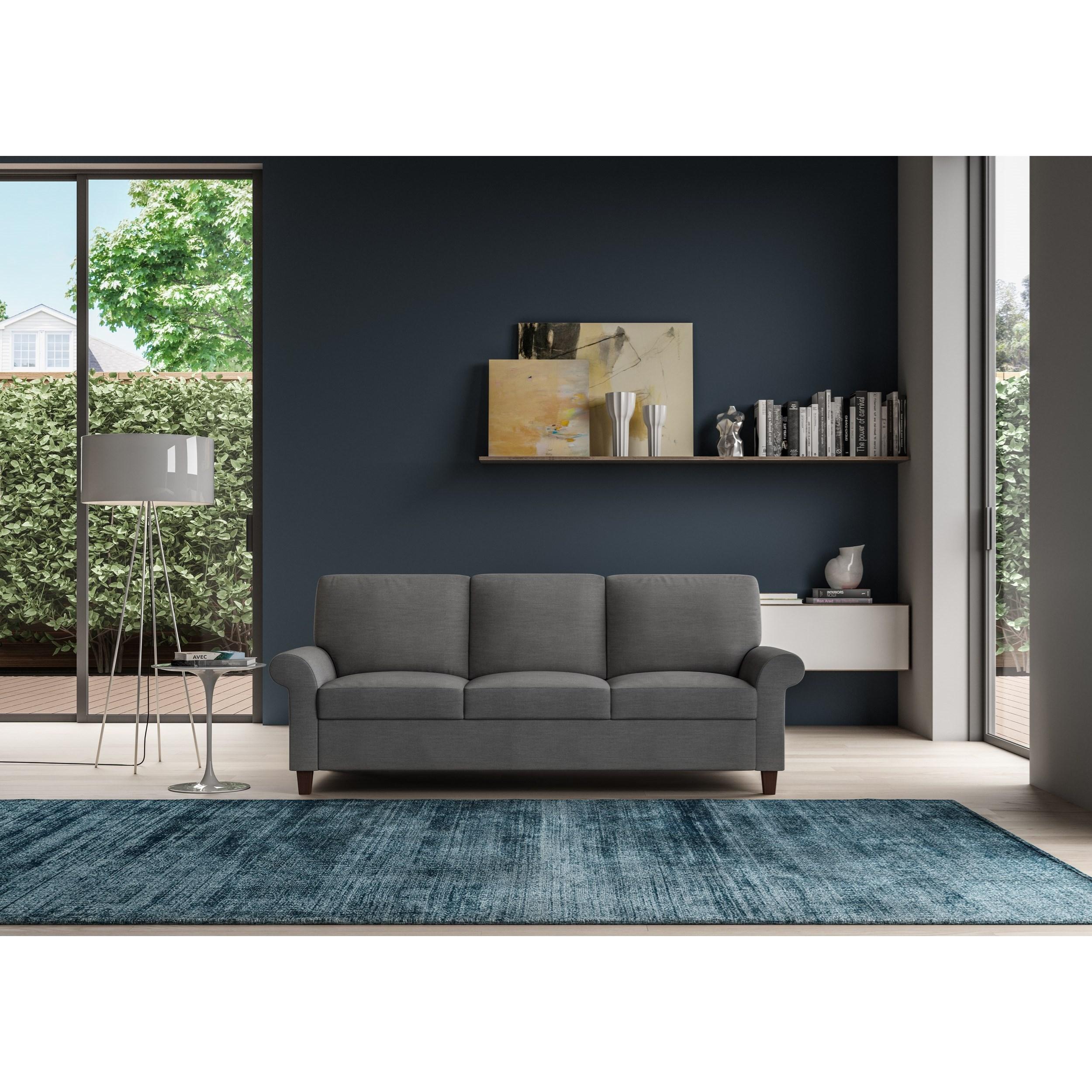american leather gibbs king size comfort sleeper williams kay sleeper sofas. Black Bedroom Furniture Sets. Home Design Ideas