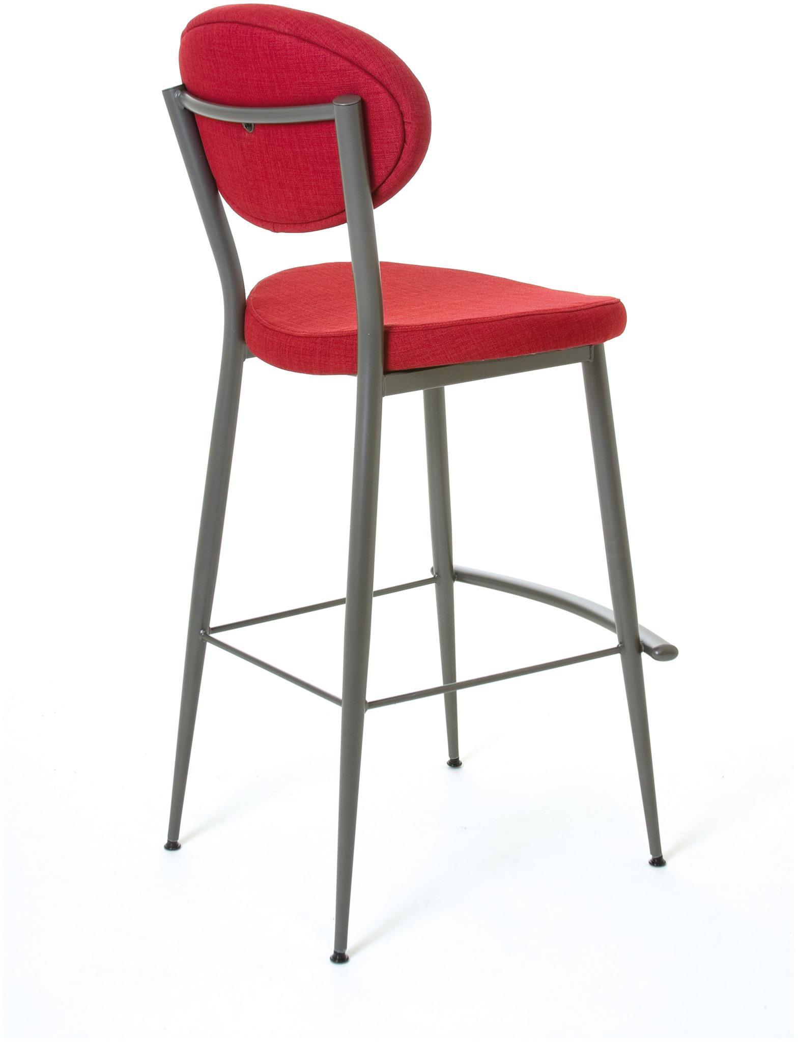 Amisco boudoir 30 bar height opus non swivel stool for Boudoir stoel