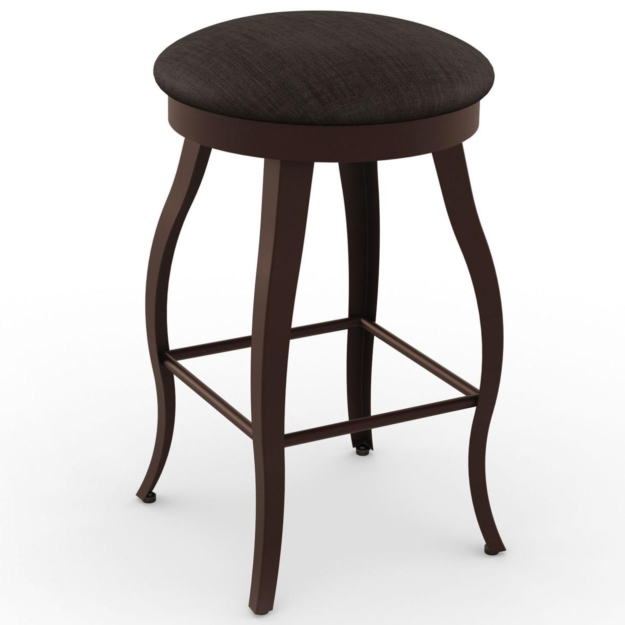 Amisco Boudoir 42514 30 30 Quot Pearl Swivel Stool Dunk