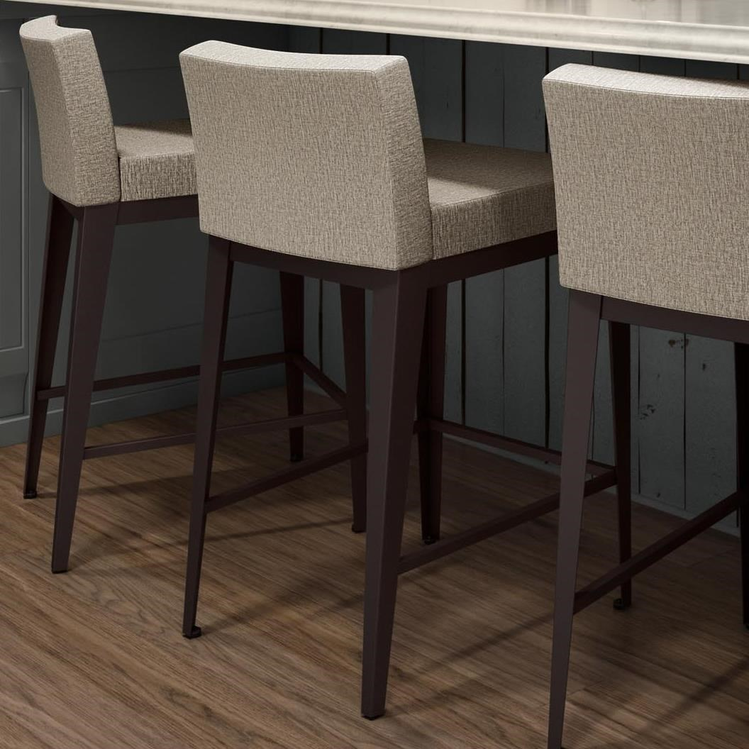 Amisco boudoir 45308 26 26 counter height ethan stool for Boudoir stoel