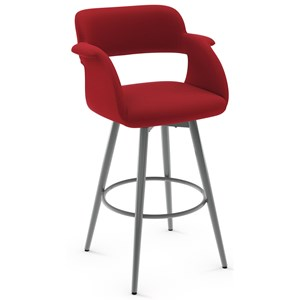 Amisco Urban 26 Quot Counter Height Ronny Swivel Stool